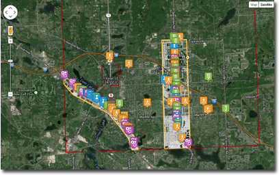 CWA used its MiCommunity Remarks community engagement tool during Independence Township's master planning process in 2014