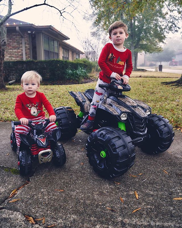 Merry Christmas from TX! #merica #offroad #outside #adventure #walkersampson #camallan #prouddad #fourwheeler