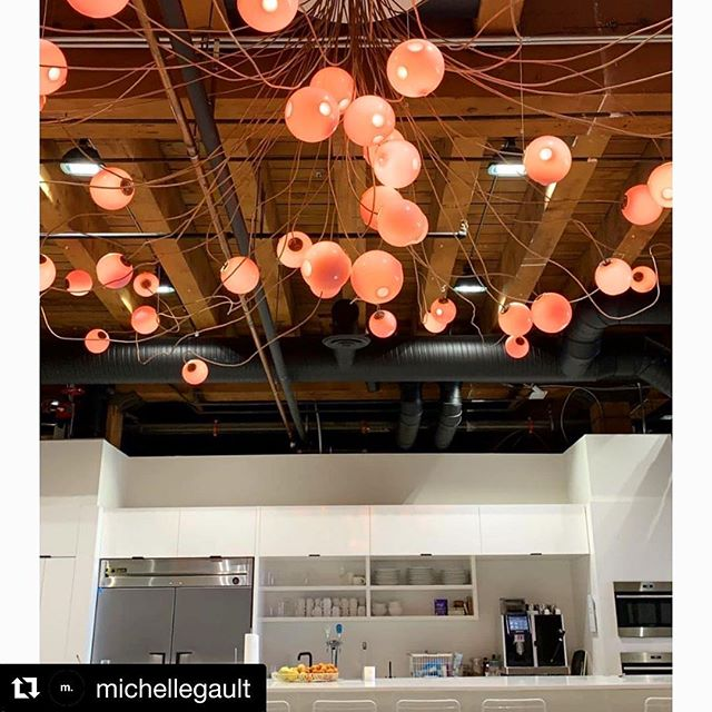 HERSCHEL || Beautiful @boccidesign light fixtures in the @herschelsupply Vancouver office. Thanks @michellegault for the great shot! . . . #macleodbuilt #macleodbuilders #macleodandproud #officerenovation #herschel #herschelsupplyco #yvrofficedesign