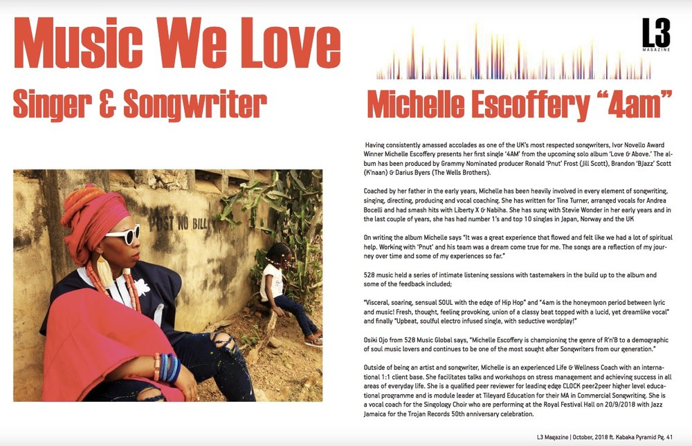 check out L3 Magazine October Issue https://issuu.com/l3magazine/docs/acfrogdbuzogvngndrme9v9sgpofkoomakb/40