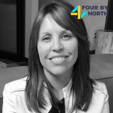 <b>Erin Eisinger</b> <br> Consulting Strategiest & Co-Founder <br> Four By North