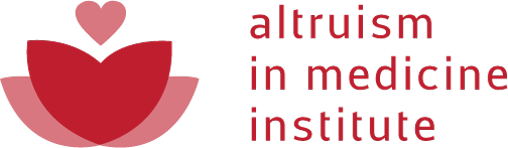 Altruism in Medicine Institute's (AIMI) mission is to increase compassion and resilience among health care professionals and their patients. We deliver lectures and workshops; write curriculum; publish books; and collaborate on metrics to measure outcomes.  Learn More --->