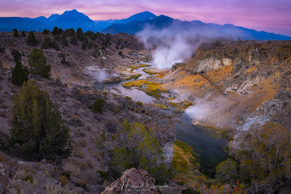Hot Creek Twilight / Maricel Quesada