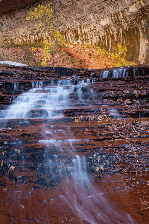 Autumn Arch Angel Falls / Jennifer Renwick / A simple autumn scene at Arch Angel Falls