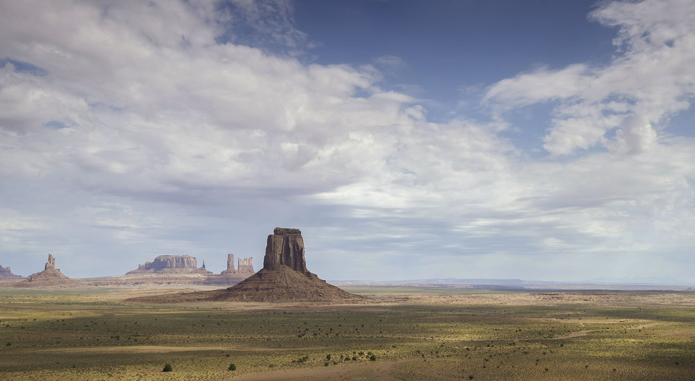 View of Monument Valley / Jeremiah Cunningham