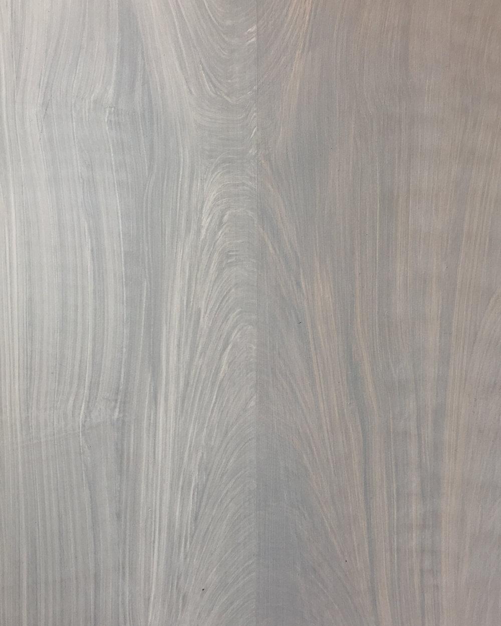 Bleached Walnut Faux Bois
