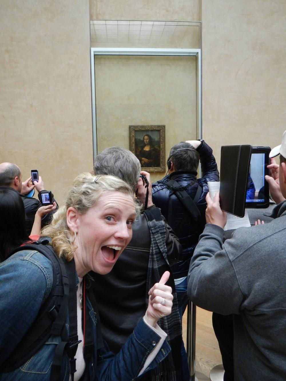 Dee meets Mona