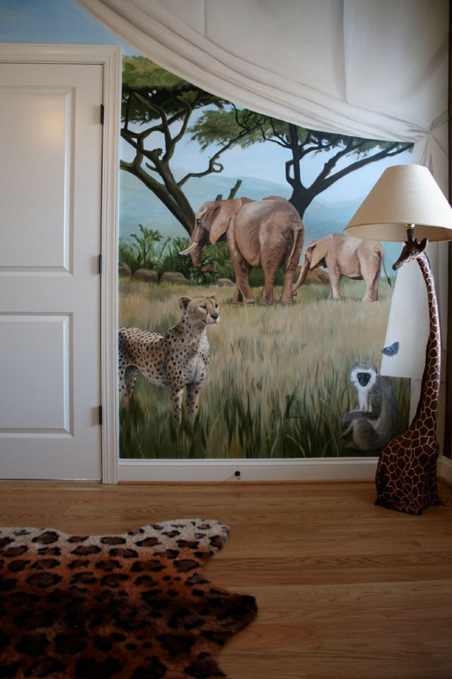 Safari Bedroom