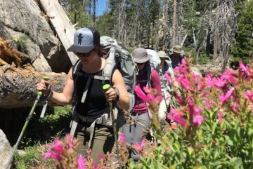 Level 2: Essence of Smart +Light  3-day trip that equips you with skills and confidence to plan and execute trips on your own, even off trail.