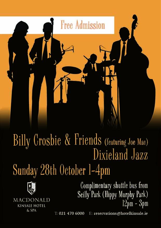 kinsale hotel jazz weekend poster