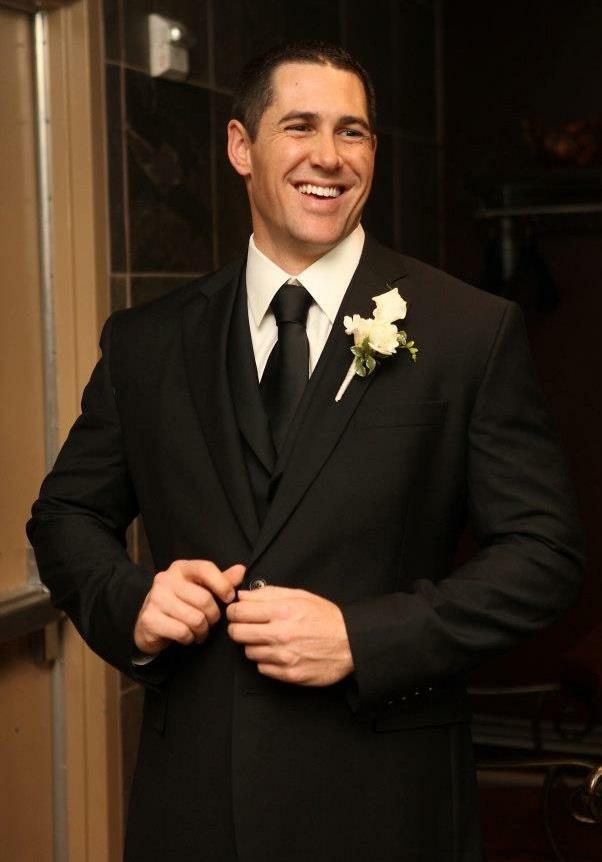 january wedding groom