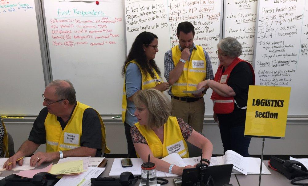 Clark County Emergency Coordination Center