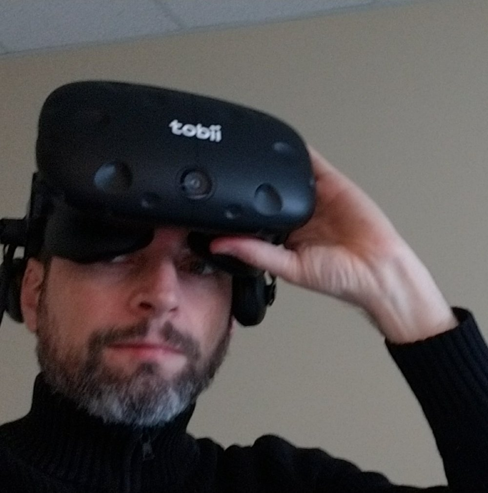 Ryan Cameron - Virtual Reality is part of Unified's approach to collecting information on patients for research at our clinics.
