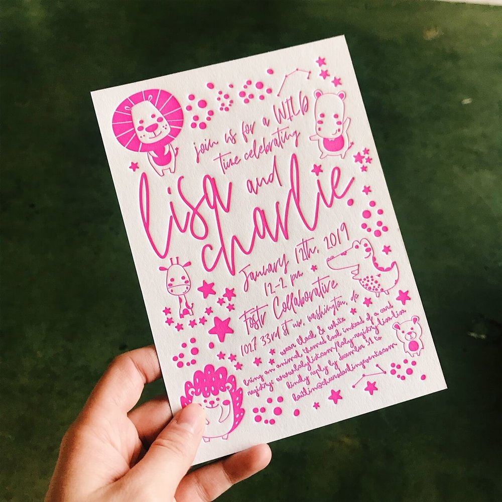 Hot pink letterpress.jpeg