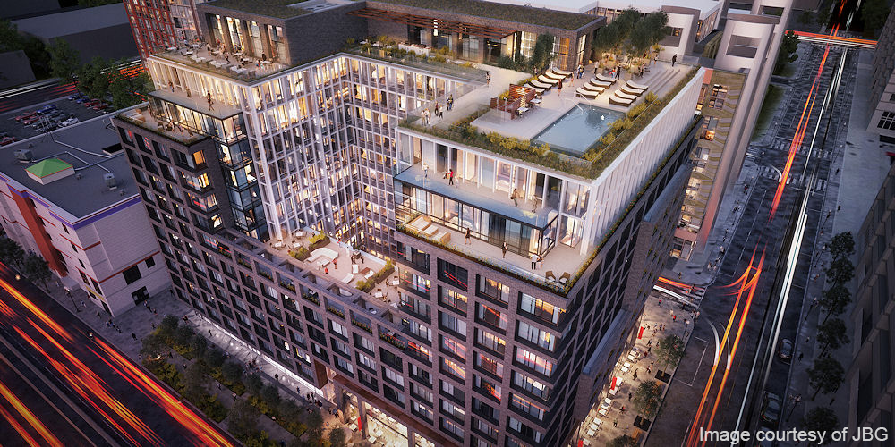 1221 Van Street - Commissioning: Located next to the Washington Nationals Ballpark, the 13 story, 336,000 square-foot mixed-use residential building achieved LEED Silver under the New Construction rating system.