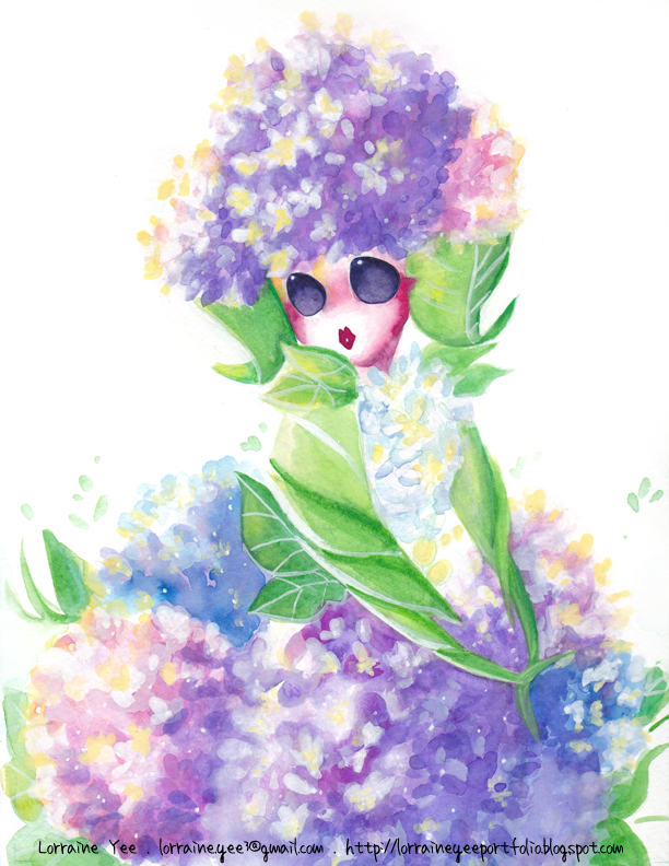Hydrangea Princess