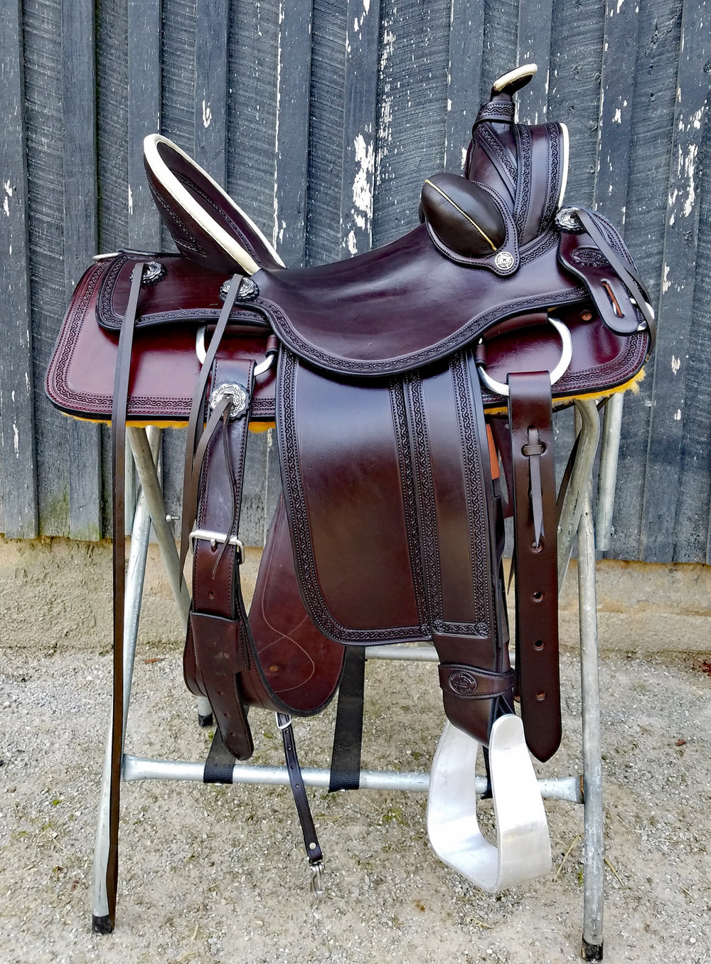 Eli Miller Custom Vaquero Saddle - Custom Made Vaquero Saddle handcrafted by Eli Miller. 16