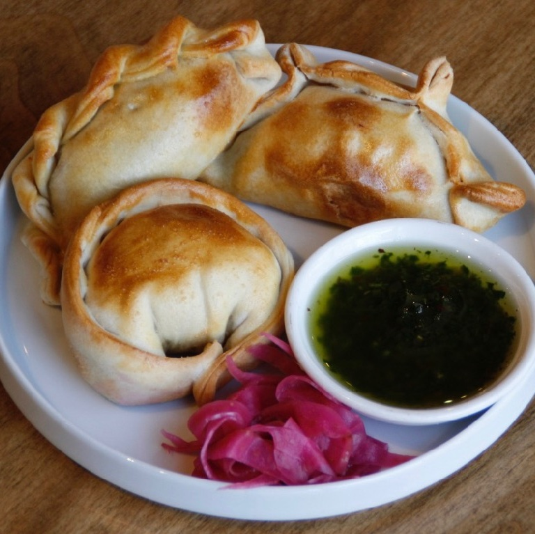 EMPANADAS, PICKLES AND CHIMICHURRI