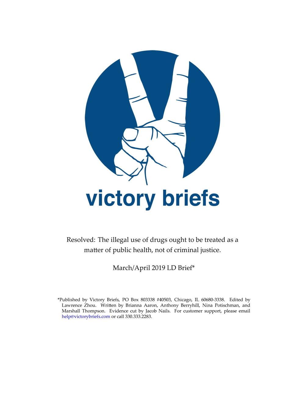 LD Mar/Apr '19 - Illegal Drugs