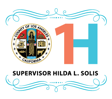 - Supervisor Hilda L. Solis was sworn in as  Los Angeles County Supervisor for the First District of Los Angeles County on December 1, 2014.