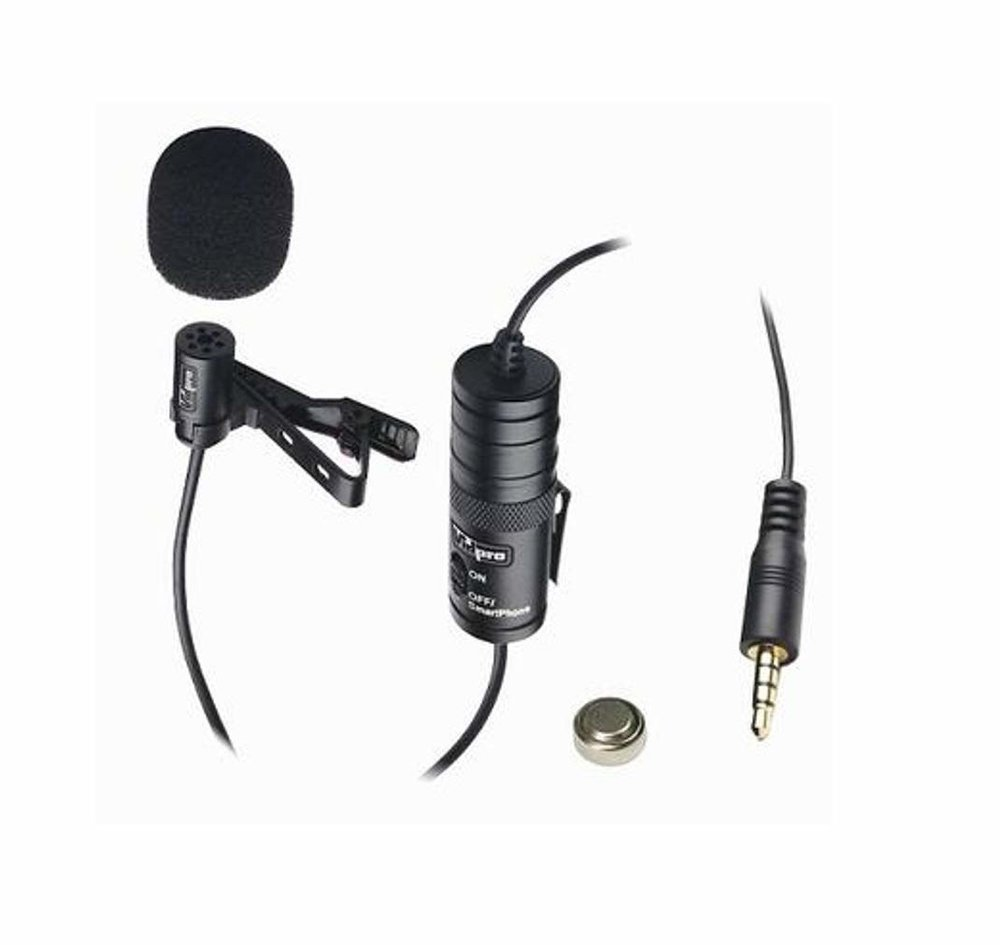 TWO LAVALIER MICS