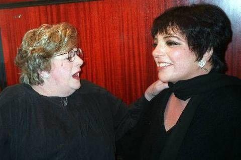Rosemary Clooney and Liza Minelli at Rainbow and Stars, 1998