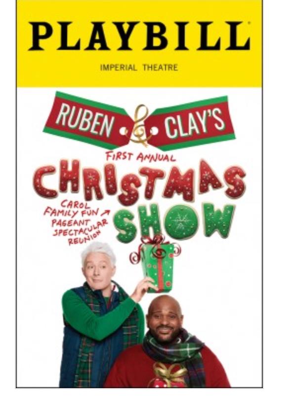 Ruben Studdard & Clay Aiken on Broadway