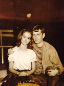 "Keith Allerton, AL '66 in the ""The Fantasticks"" with Linda Hunt Ellerbeck"