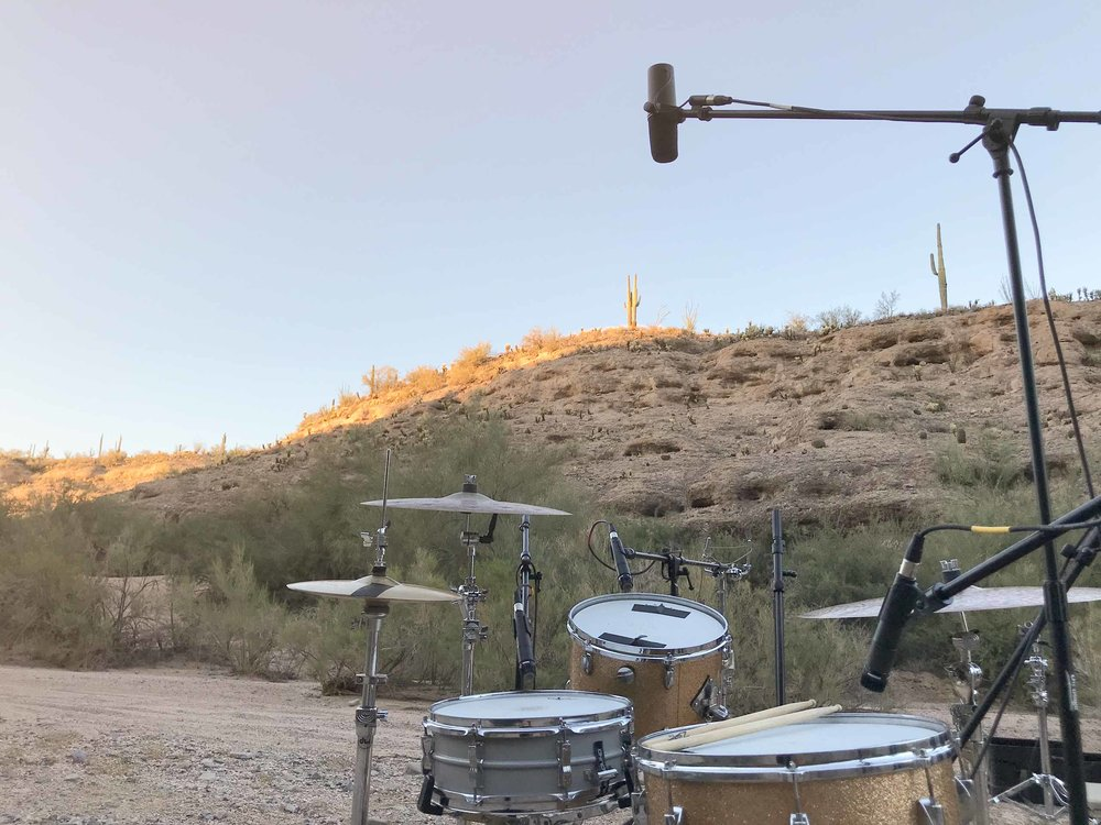 Our 1960's Gretsch In Tonto National Forest.