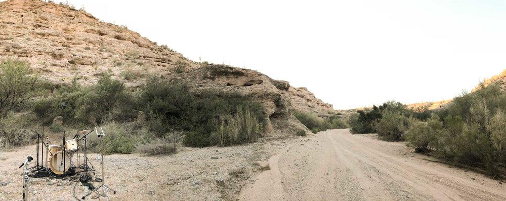 Ah, the desert.