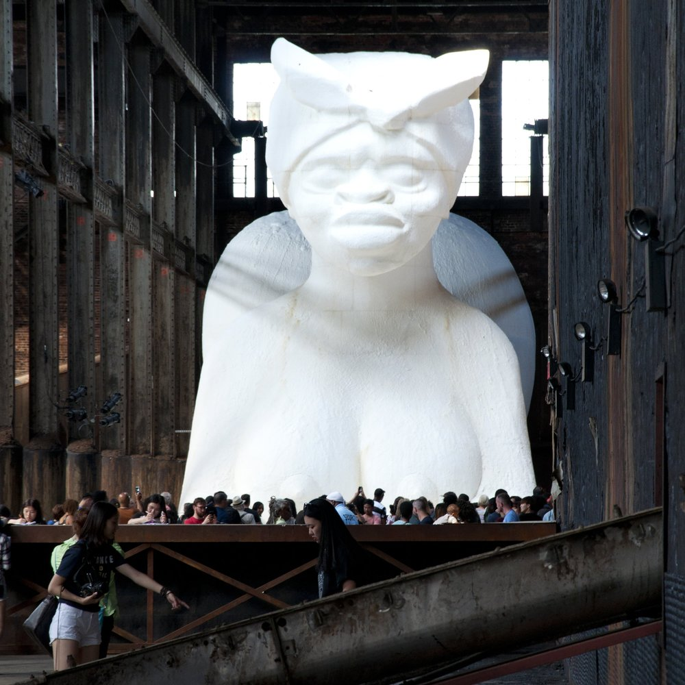 A Subtlety, Kara Walker - Domino Sugar Factory, Summer 2014