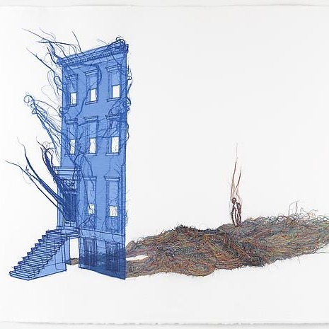Rubbing/Loving Project, Do Ho Suh - Lehmann Maupin, Fall 2014