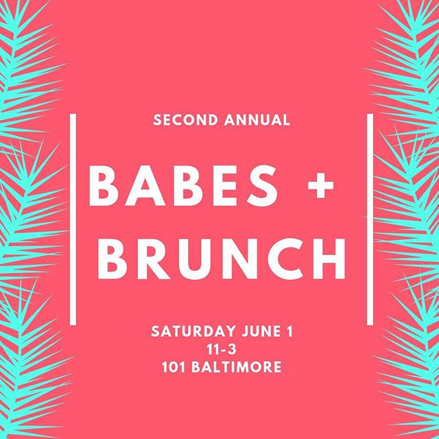 Kick off summer with Be More Babes! Join us for our second annual #BabesandBrunch at @101_baltimore 🌿🥂🥞 Link to tickets in bio. 📲