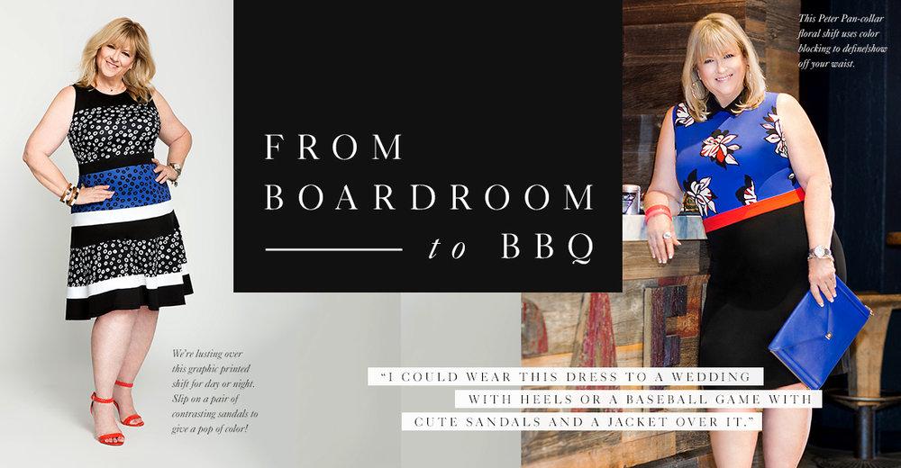 Sondra Grohman Boardroom to BBQ