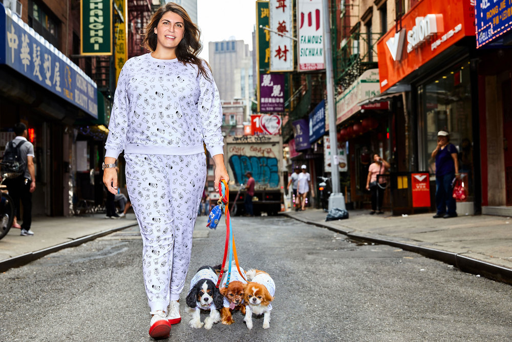 ELOQUII-x-Katie-Sturino-Look-9-Printed-Sweatshirt-Track-Pant-matching-dog-hoodie.jpg
