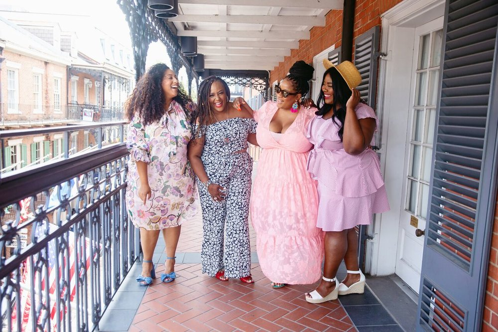 @missalexlarosa ,  @nikkifree ,  @essiegolden ,  @musingofacurvylady      We had an amazing time in NOLA & hope to be back! If you didn't get a chance to visit us there, shop our looks at  ELOQUII.com !