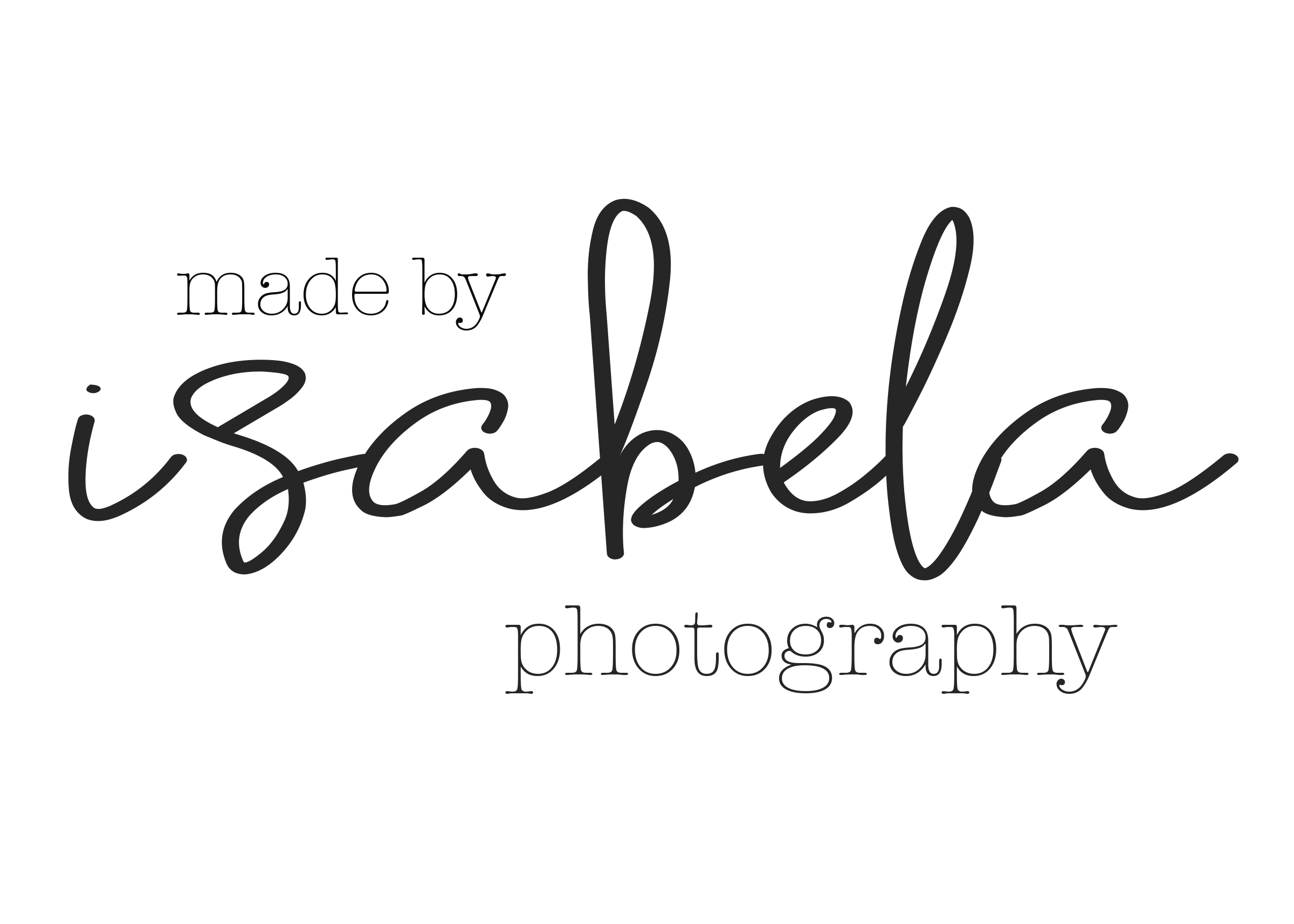 Made By Isabela Photography