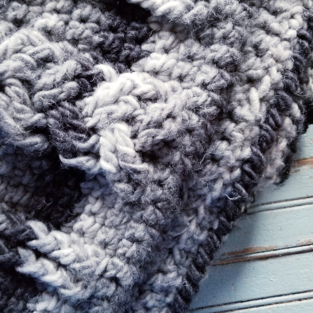 Crochet Braided Cable Blanket: Free Pattern — Rebekah's Haas and Home