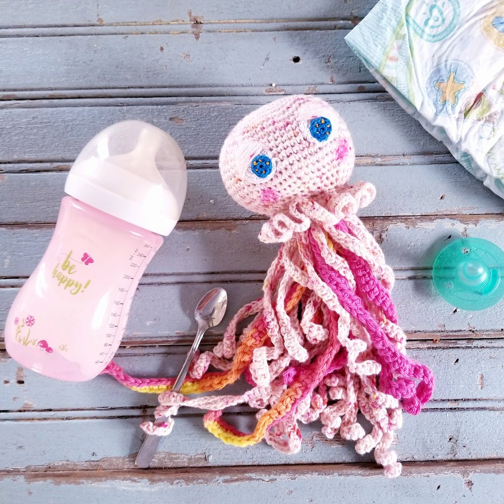 Baby Jellyfish Free Crochet Pattern Rebekahs Haas And Home