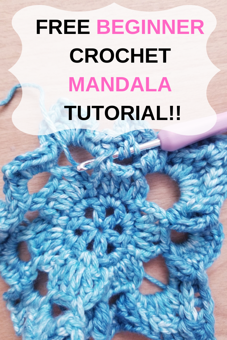 Beginner Crochet Mandala Pattern