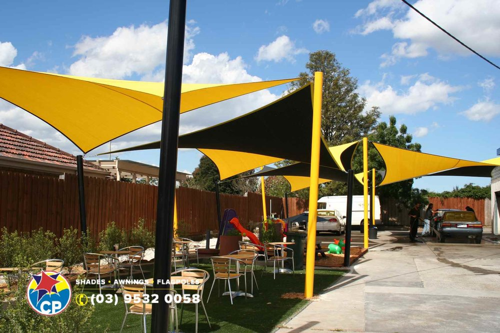 Shade Sail Structures Melbourne