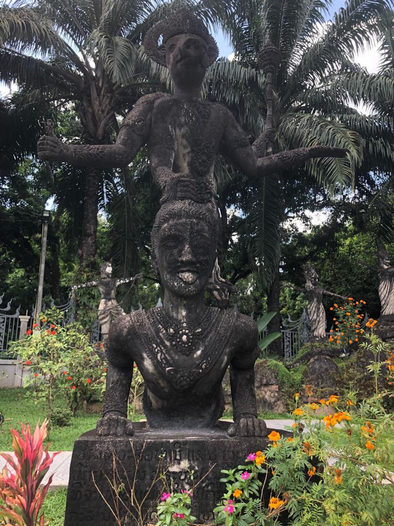 Buddha Park.