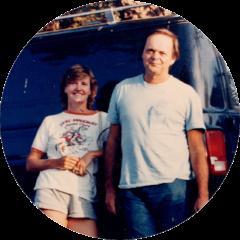 William Preston and Marianne Hornbuckle, circa early 80s.