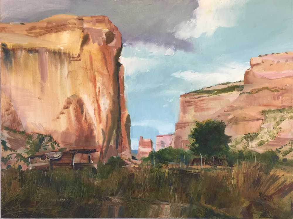 Canyon de Chelly - 30x40 - 5500.