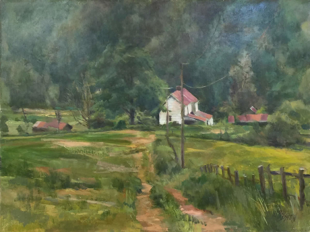 Farmhouse, Shenandoah - 24x30 -