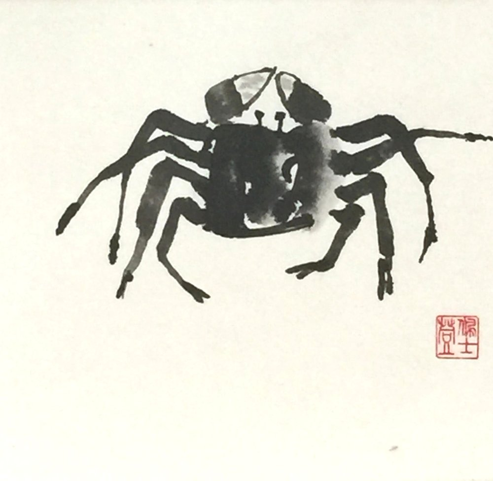 Ghost Crab - 8.5x11 -250.