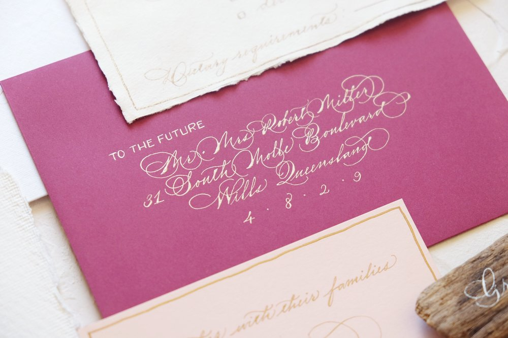 Flourished spencerian