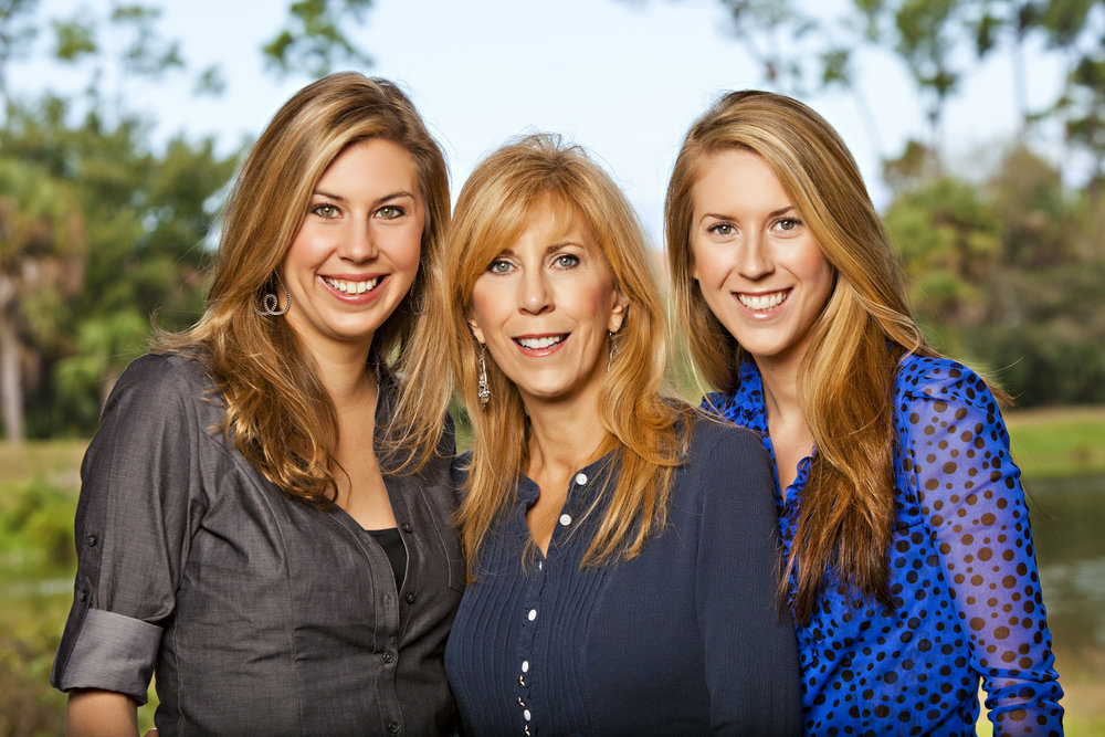 Darlene with her daughters, Loren & Chelsea. -