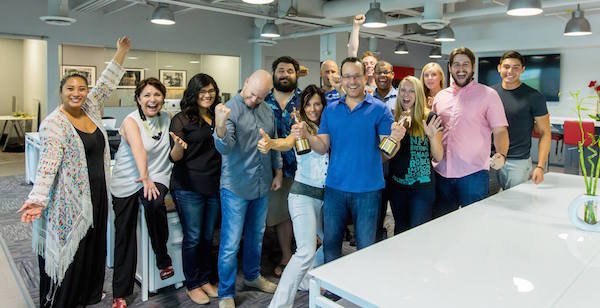 Check out the awesome  WireBuzz  team! (we had just won at Telly award)