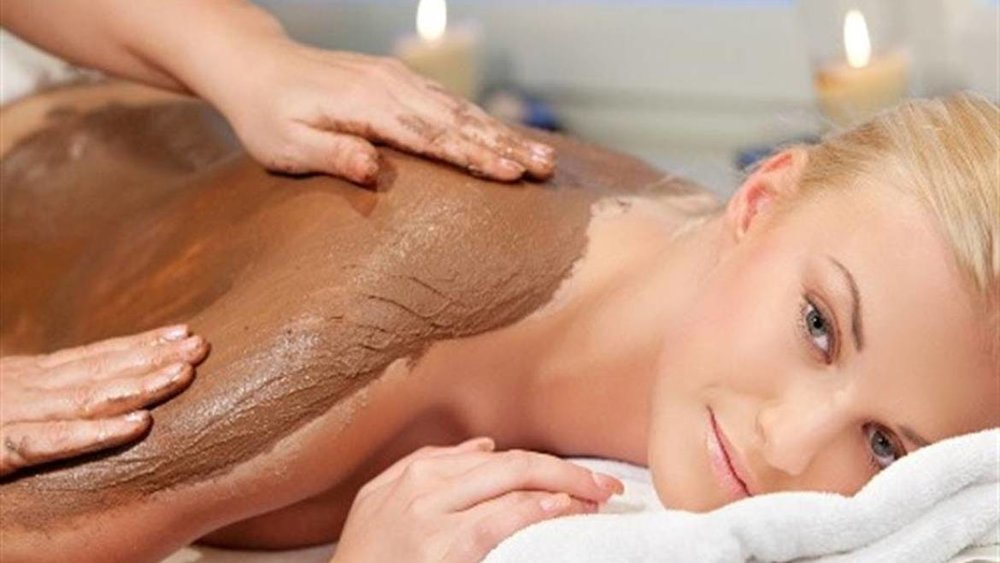 Add a 45 minuteBody Scrub - Add a body scrub to any massage for smoother, glowing skin. A full body exfoliation followed by an application of rich moisturizing cream, gently massaged into your skin. $75